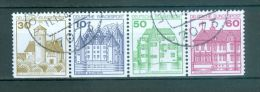 BUND ZD Mi-Nr. 914 + 913 + 1038 + 1028 D Gestempelt (1) - Booklets