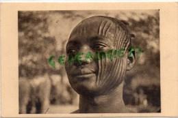 AFRIQUE -  TCHAD - UN SARA DE FORT ARCHAMBAULT - NOMBRE DE CICATRICES INDIQUE LA TRIBU-SCARIFICATION- PHOTO RENE MOREAU