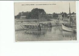 14 PORT En BESSIN Les Nouvelles Estacades Et La Route De Bayeux - Frankrijk