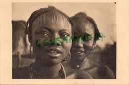 AFRIQUE -  TCHAD -  FEMMES SARA DE FORT ARCHAMBAULT -SCARIFICATION - PHOTO RENE MOREAU