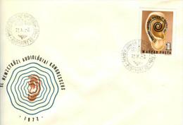 HUNGARY - 1972. FDC - 11th Intl.Audiology Congress / The Earth´s Ear By Amerigo Tot  Mi:2811. - FDC