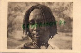 AFRIQUE -  TCHAD - FEMME DE FORT LAMY -SCARIFICATION - PHOTO RENE MOREAU