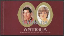 Barbuda - Mi.Nr.   612 619  -    Markenheft -   Postfrisch - Antigua Und Barbuda (1981-...)