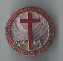 Religieux/Insigne /O Crux Ave Spes Unica /Lorioli & Castelli / MILAN/1930      CAN128 - Insignes & Rubans