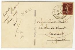 "T04  -  "" BAREGES  /  Htes PYRENEES  /  1931 ""  -  Sur YT 189 T1 - 1921-1960: Periodo Moderno"