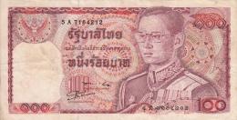 THAILANDE 100 Baths 1978 VF P89 - Thaïlande