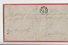 DE343-1833 Huelle COSEL/KOZEL-RATIBOR/RACIB OR (Schlesien)-K1 Klein - Germania