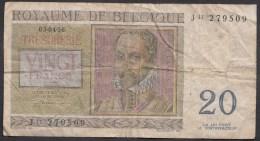 België Belgique Belgium 20 Fr 03.04.56 -  J 11  - 279509 - 20 Francs