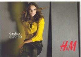 PROMOCARD N°  8208   H & M MODA - Advertising