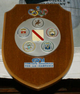 ITALIA - CREST ARALDICO DEL CONI CAMPANIA - Abbigliamento, Souvenirs & Varie