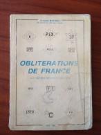 Mathieu 1987 Obliterations De France RAre - Frankrijk