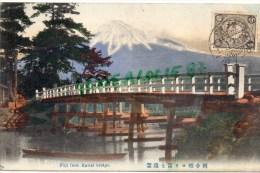 ASIE - JAPON - FUJI FROM KAWAI BRIDGE - Japon