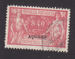 Azores, Scott #Q6, Used. Parcel Post Stamp, Issued 1921 - Azores