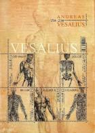 Belgium - 2014 - Andreas Vesalius, Anatomist And Physician - Mint Souvenir Sheet - Belgien