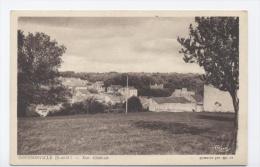 78 GOUSSONVILLE--VUE GENERALE  -RECTO/VERSO --E58 - Frankreich