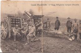 R14-194 - CASALE MONFERRATO - ALESSANDRIA - 1° REGGIMENTO ARTIGLIERIA CAMPALE PESANTE - F.P. - A. 1913 - Alessandria