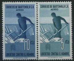 1963 Guatemala, Campagna Mondiale Contro La Fame, Serie Completa Nuova (**) - Guatemala