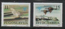 JUGOSLAVIA 1991   Protezione Della Natura : Uccelli  MNH - Milieubescherming & Klimaat