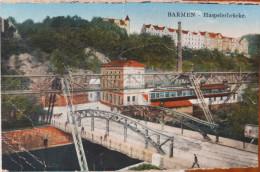 ALLEMAGNE - BARMEN - CPA -  Haspelerbrucke - Wuppertal