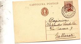 1933    CARTOLINA CON ANNULLO DOGLIANI CUNEO - Ganzsachen