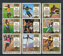 Rép. De Guinée 1972. Yvert 470-76 + A 105-06 ** MNH. - República De Guinea (1958-...)