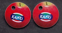 1 X Shopping Carts / Winkelwagentjes / Jeton De Caddie - Kanzi - Trolley Token/Shopping Trolley Chip