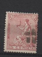 5 C . Rosa ; Edifil No.132; Michel Nr.126, Usado - Usados