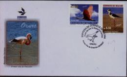 Bolivia 2007 FDC CEFIBOL 1961-62s. FDC Aves Del Departamento De Oruro. See Description - Bolivia