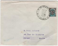 "ALGERIA - ALGERIE - Enveloppe ""3ème Foire D'ORAN"" 18-19 Octobre 1952 - Algeria (1924-1962)"