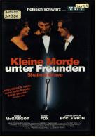 VHS Video  -  Kleine Morde Unter Freunden  -  Mit :  Ralph Fiennes, Jeanette Hain, David Kross  -  Von 1995 - Krimis & Thriller