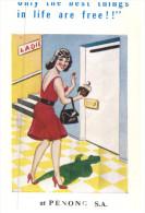 (PF 311) Humorous - Humour - Free Toilet - Humour