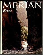 Merian Illustrierte  -  Kreta  -  Viele Bilder Von 1978  -  Chania : Heimat Der Quitte  -  Flug über Die Insel - Voyage & Divertissement