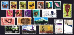 New Zealand 1970 Set - Butterflies, Fish, Icons, Views Used - - New Zealand