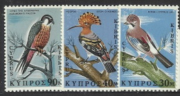 Cyprus 1969 Birds Set 6 MNH - Unclassified