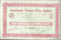 Gaumont Franco Film Aubert - Cinéma & Théatre