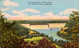 Bull Shoals Dam On White River Near Mountain Home, Arkansas - Etats-Unis