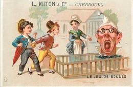 :réf  M 14-1283 :  L. Milton Cherbourg Au Bon Marché Le Bonnet D'âne Les Espiègles Le Martinet, Cocotte En Papier - Old Paper