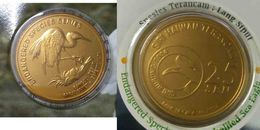 MALAYSIA 2005 Coin Bird Nordic Gold BU 25 Sen Great Egret - Malaysie