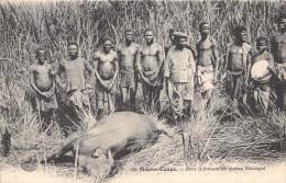 ¤¤  -  68   -  MOYEN-CONGO   -  Dans La Brousse Du Plateau Bakougni  -  Chasseurs  -  ¤¤ - Congo - Brazzaville