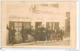 GENSAC,,,,,RESTAURANT  Du  PERIGORD ,,,,,CARTE  PHOTO,,,,ANIMEE,,,,BE,,,,  Peu Courante - Francia