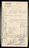 Document De La Cie Gle TRANSATLANTIQUE Steamer :ARIZONA   Venant De F.DE.FRANCE Le 7.09.1928 - Transportmiddelen