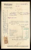 Document De La Cie Gle TRANSATLANTIQUE Steamer : BASSE TERRE   Venant De F.DE.FRANCE Le 15.10.1927 - Transports