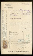 Document De La Cie Gle TRANSATLANTIQUE Steamer : SEVRE Venant De F.DE.FRANCE Le 02.03.1928 - Transportmiddelen