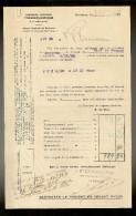 FACTURE De La Cie Gle TRANSATLANTIQUE Steamer : AVEYRON Venant De F.DE.FRANCE Le 22.10.1928 - Transports