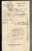 FACTURE De La Cie Gle TRANSATLANTIQUE Steamer : A IDENTIFIER à Destination De F.DE.FRANCE Le 22.08.1930 - Transportmiddelen