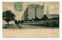 CP , 64 , PAU , Hôtel De France Et Boulevard Des Pyrénées - Pau