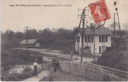 14/ 6 / 164  - ST.  AUBIN-des- Landes - Les  Lacs  ( 35 )  La Gare - France