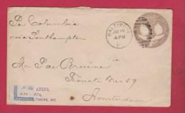 USA  // ENTIER POSTAL   //    DE BALTIMORE  // POUR AMSTERDAM   //  27 JUILLET 1894