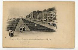 CP , 62 , BOULOGNE-sur-MER , Perspective Du Boulevard Sainte-Beuve - Boulogne Sur Mer