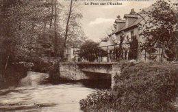"""76 MARTIN EGLISE ( Seine - Maritime ) """" Auberge Du Clos Normand """" Le Pont Sur L' Eaulne .   Chevaux Sur Le Pont . - Sin Clasificación"""